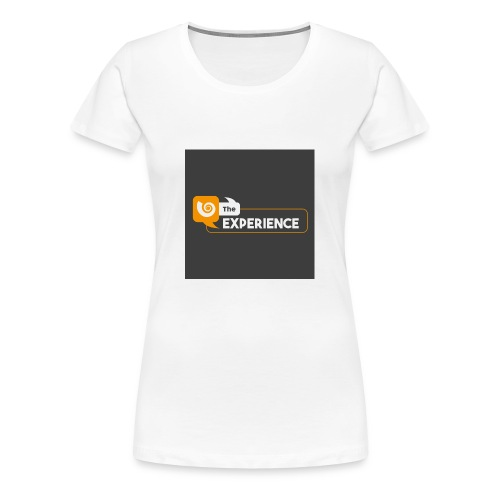 The Experience Podcast Merchandise Store - Women's Premium T-Shirt