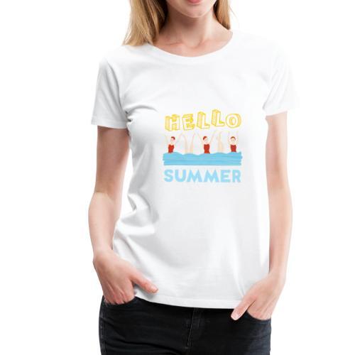 Bañistas - Camiseta premium mujer
