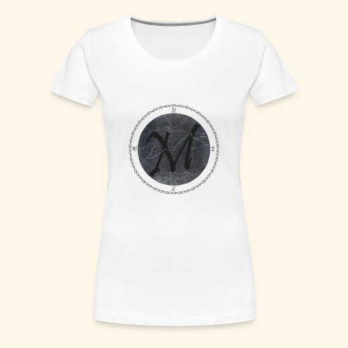 Montis logo2 - Premium-T-shirt dam