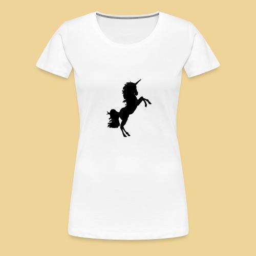 Black Unicorn - Frauen Premium T-Shirt