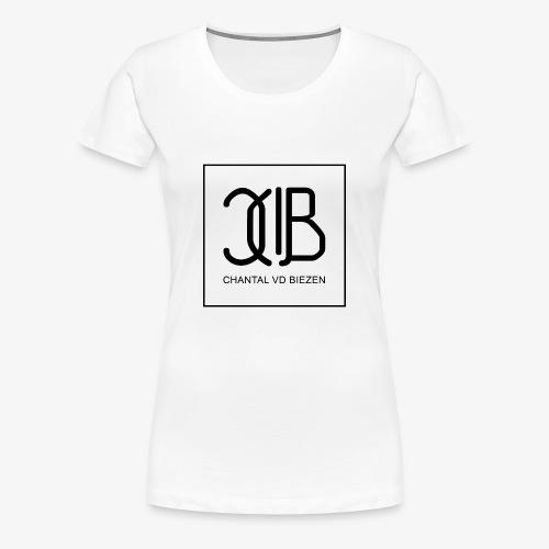 Chantal Vd Biezen Fan Artikel (Logo-Schwarz) - Frauen Premium T-Shirt