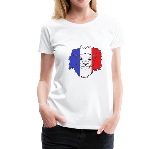 Lion France - T-shirt Premium Femme