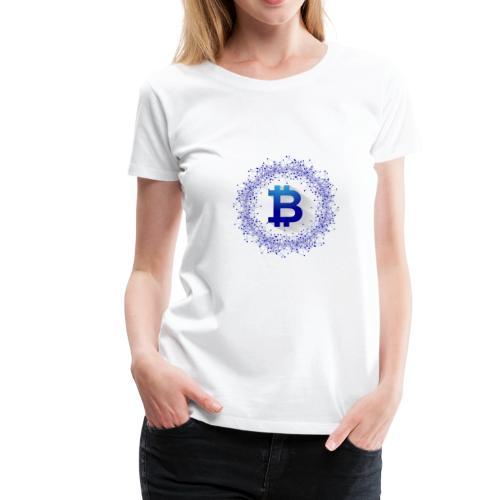 Bitcoin Data - Frauen Premium T-Shirt
