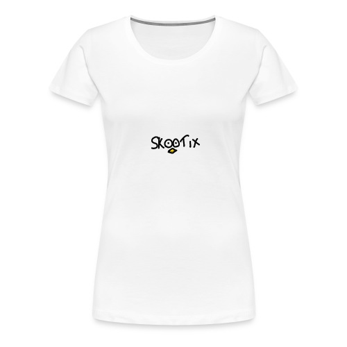 skootix blanc - T-shirt Premium Femme