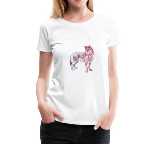 Russia World Cup - T-shirt Premium Femme