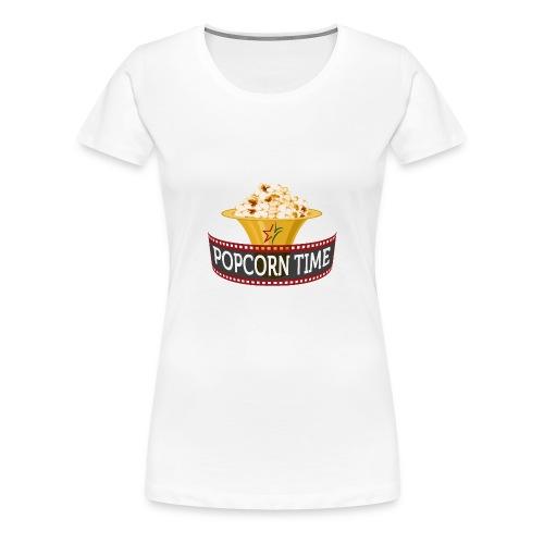 Popcorn Time - Vrouwen Premium T-shirt