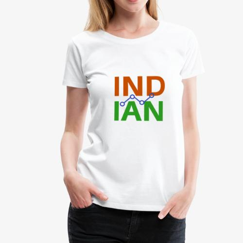 INDIAN CUSTOMISED TSHIRT - Premium-T-shirt dam