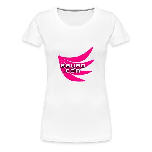 EBURD LOGO GROSS - Frauen Premium T-Shirt