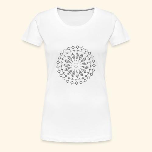 Mandala, Glück, Harmonie - Frauen Premium T-Shirt