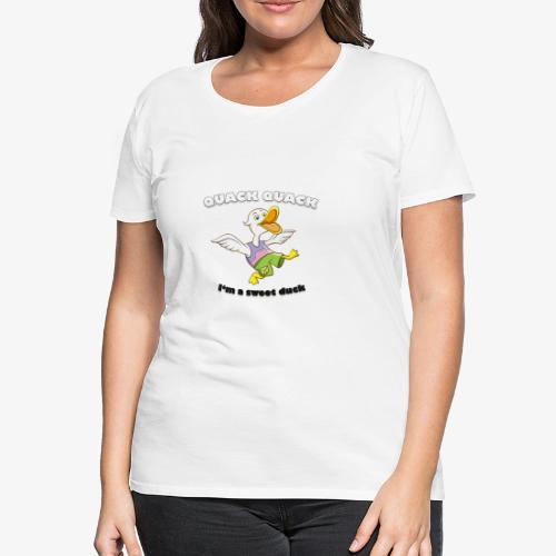 Quack Duck - Frauen Premium T-Shirt