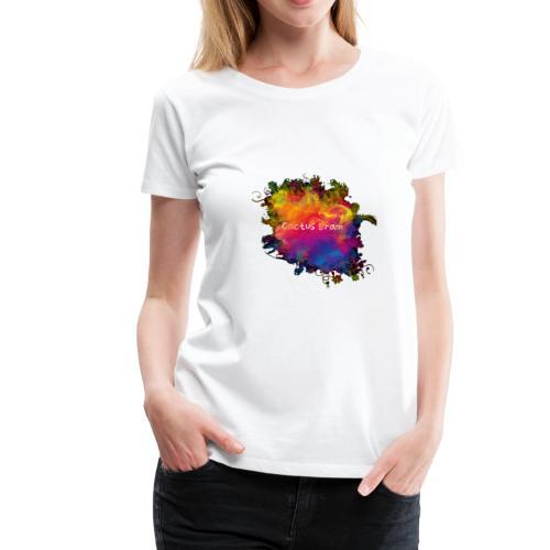 Logo coloré by Cactus Bram - T-shirt Premium Femme