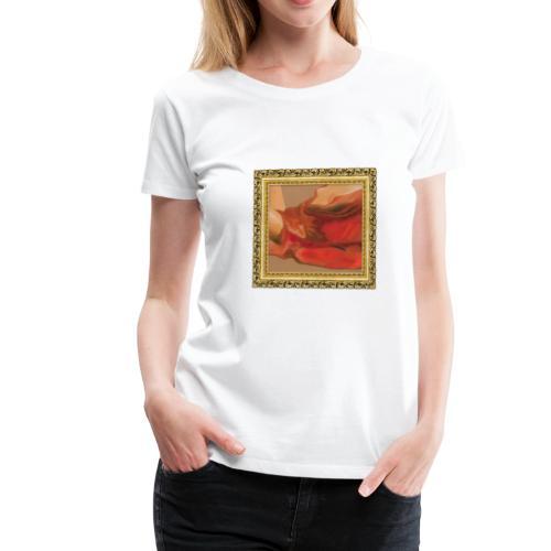 drape rouge - T-shirt Premium Femme