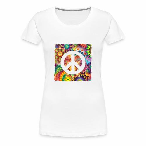Psychadelic Peace - Frauen Premium T-Shirt
