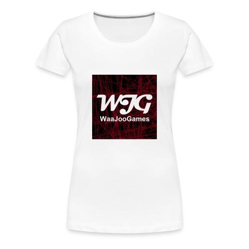 T-shirt WJG logo - Vrouwen Premium T-shirt