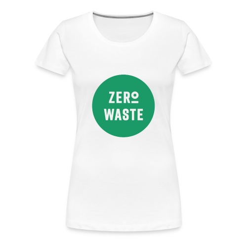 ZERO WASTE - Green - Women's Premium T-Shirt
