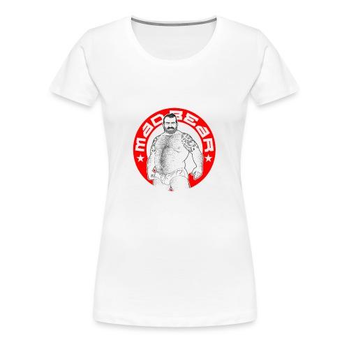Mad.bear T-shirt Red - Camiseta premium mujer