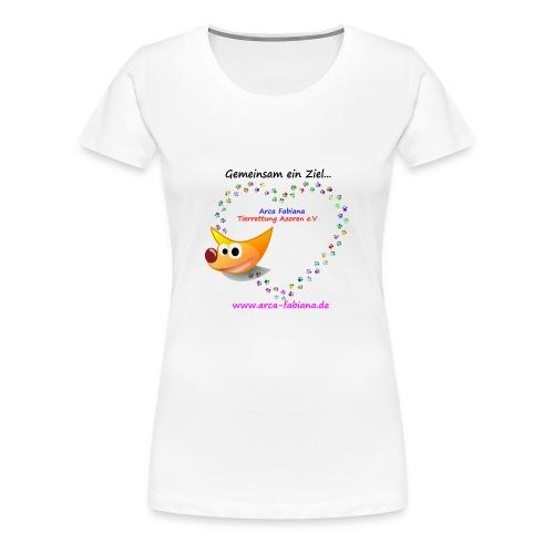 Arca Fabiana bunte Hunde - Frauen Premium T-Shirt