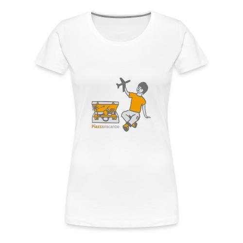 Piazzavacanze logo - Maglietta Premium da donna