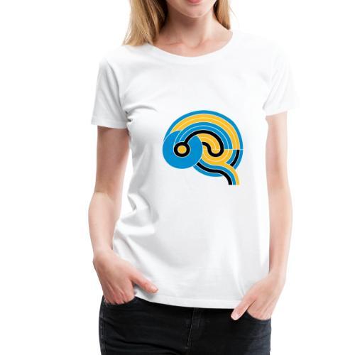 The Brain - Allez Les Bleus - Frauen Premium T-Shirt