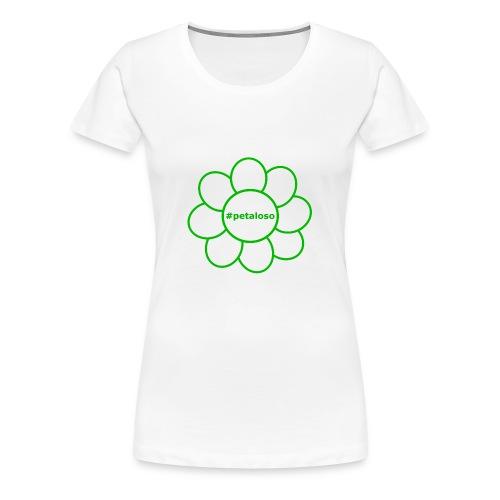 #petaloso - Maglietta Premium da donna