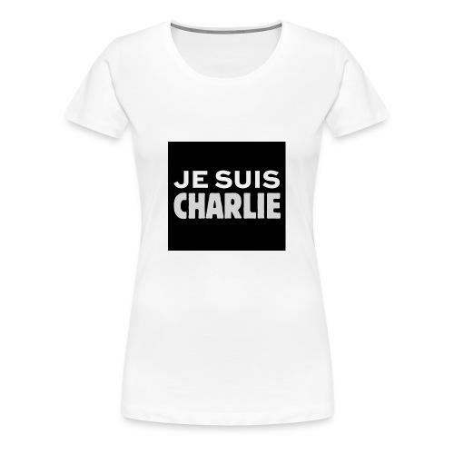 Je_suis_Charlie-svg-png - Vrouwen Premium T-shirt