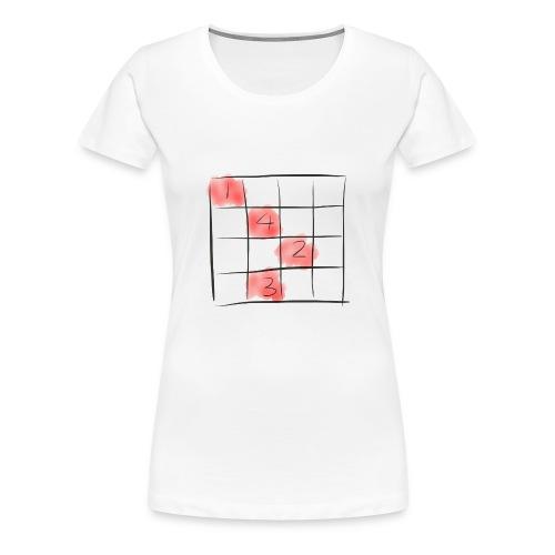 Sudoku puzzle game - Frauen Premium T-Shirt
