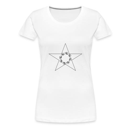 Star - T-shirt Premium Femme