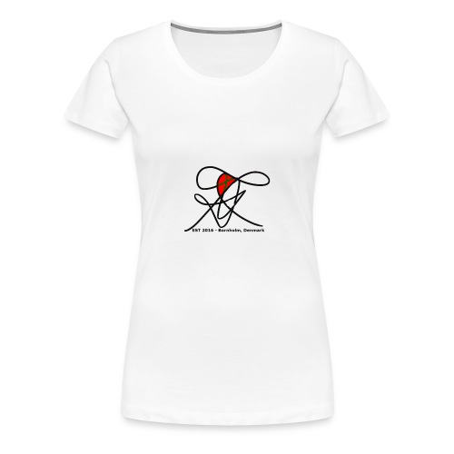 Bornholm Tee - Dame premium T-shirt
