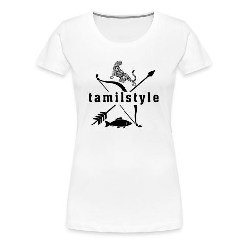 tamilstyle - Frauen Premium T-Shirt
