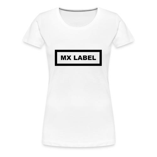 MX LABEL - Maglietta Premium da donna