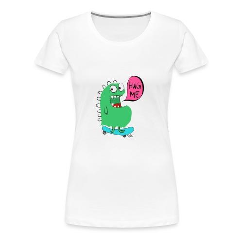 SkateboardMonster - Frauen Premium T-Shirt
