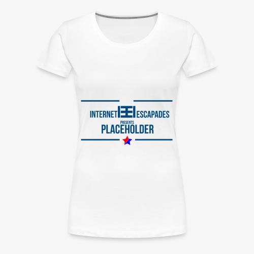 Placeholder - Premium T-skjorte for kvinner