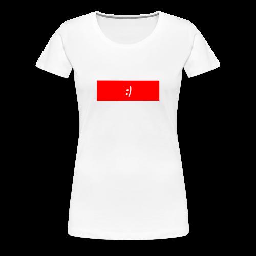 Happy - Women's Premium T-Shirt