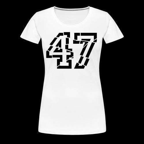 47 broken - Frauen Premium T-Shirt