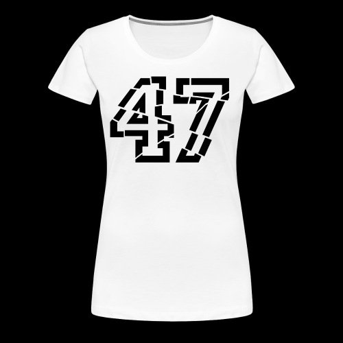 47 broken - Frauen Premium T-Shirt