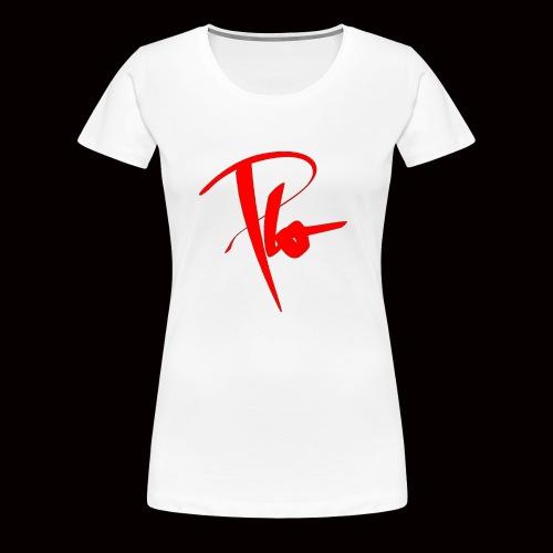 Plo Rotes Logo - Frauen Premium T-Shirt