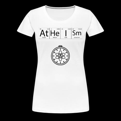 AtHeISm - T-shirt Premium Femme