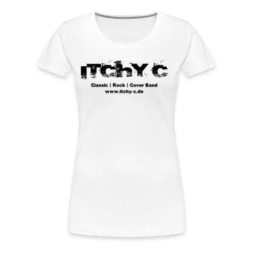 Itchy C Original schwarz - Frauen Premium T-Shirt