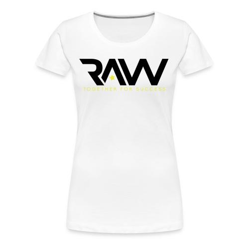 Raw - T-shirt officiel - Femme - T-shirt Premium Femme