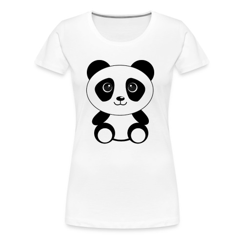 PandaGun-Icon - Frauen Premium T-Shirt