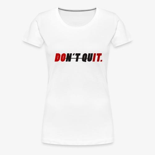 Motivations Design - Frauen Premium T-Shirt