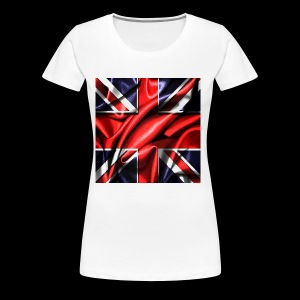 Union Jack design - Women's Premium T-Shirt