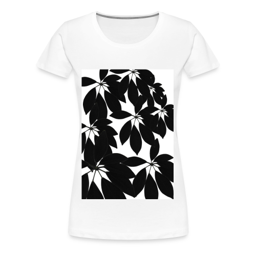 schefflera eightsome color white - Frauen Premium T-Shirt