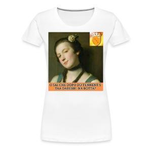 Tennents - Maglietta Premium da donna