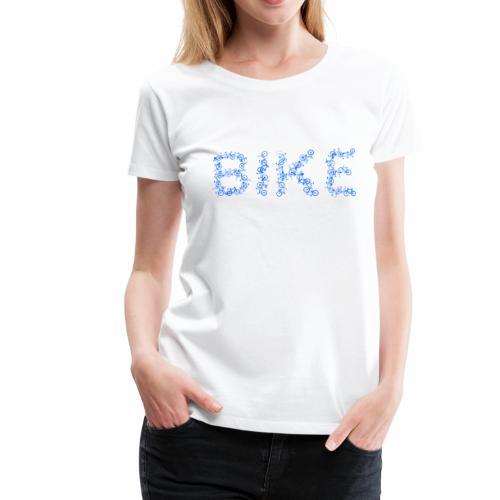 Bike Fahrrad Rad Tandem Hollandrad Geschenk Idee - Frauen Premium T-Shirt
