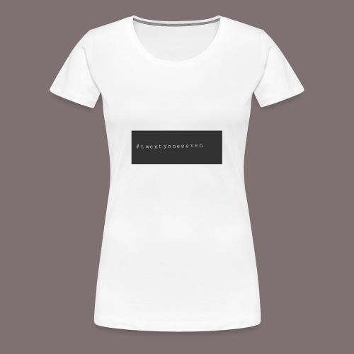Hashtek Original TOS - Frauen Premium T-Shirt