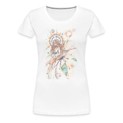 Déesse du ciel - T-shirt Premium Femme