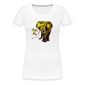 Visit Me - Frauen Premium T-Shirt