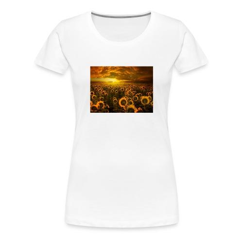 sunfl-png - Maglietta Premium da donna