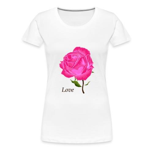 rosedigitallovewide - T-shirt Premium Femme